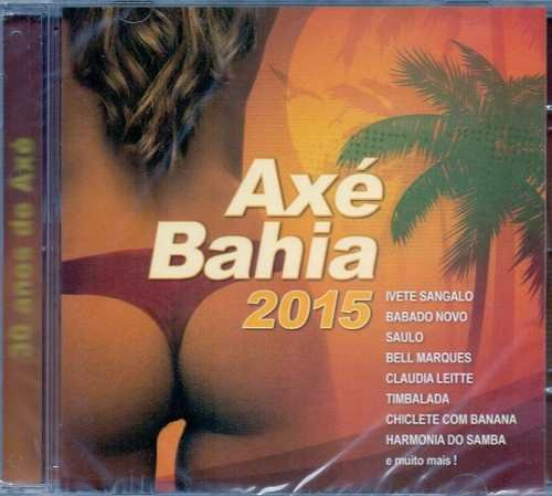 CD AXÉ BAHIA 2015 - IVETE SANGALO, CLAUDIA LEITTE E OUTROS