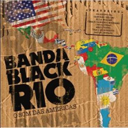 CD BANDA BLACK RIO - O SOM DAS AMÉRICAS