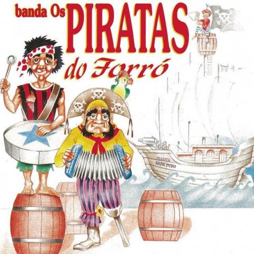 CD BANDA OS PIRATAS DO FORRÓ