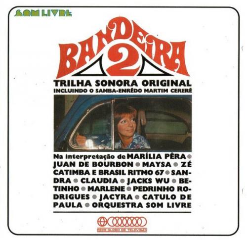 CD BANDEIRA 2 -  NACIONAL - TRILHA SONORA DE NOVELAS