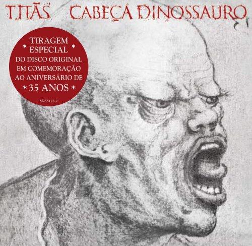 CD CABEÇA DINOSSAURO - TITÃS (TIRAGEM ESPECIAL COMEMORATIVA AO ANIVERSÁRIO DE 35 ANOS)