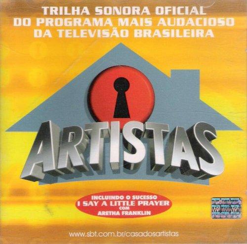 CD CASA DOS ARTISTAS - TRILHA INTERNACIONAL