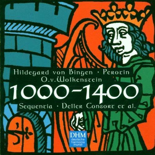 CD CENTURY CLASSICS I - 1000-1400 HILDEGARD VON BINGEN, PEROTIN, O.V. WOLKENSTEIN BY DELLER CONSORT