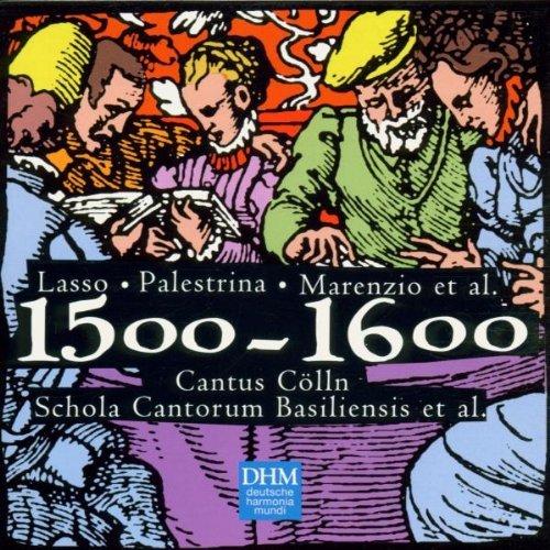 CD CENTURY CLASSICS III - THE YEARS 1500-1600: LASSO, PALESTRINA, MARENZIO, ET AL
