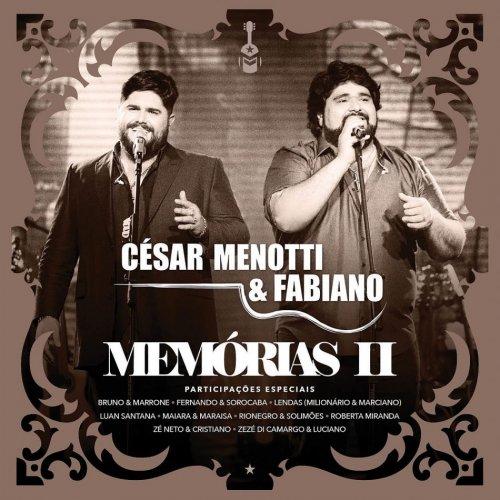CD CESAR MENOTTI & FABIANO - MEMORIAS II