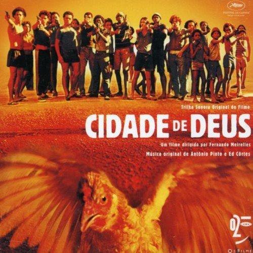 CD  CIDADE DE DEUS  (TRILHA SONORA DO FILME DE FERNANDO MEIRELLES)