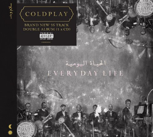 CD COLDPLAY - EVERYDAY LIFE