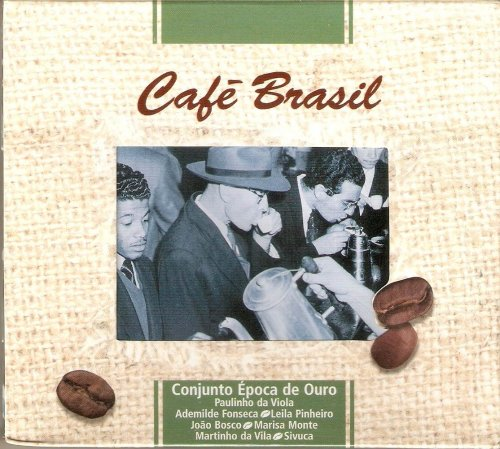 CD CONJUNTO EPOCA DE OURO - CONVIDADOS - CAFE BRASIL