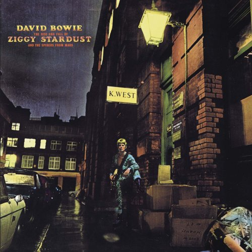 DAVID BOWIE - THE RISE AND FALL OF ZIGGY STARDUST AND THE SPIDERS FROM MARS - REMASTERIZADO