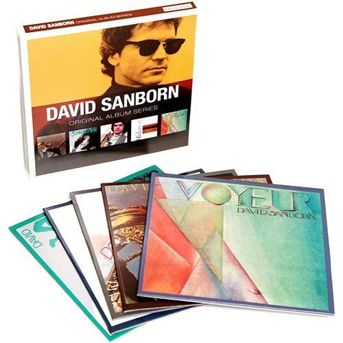 CD DAVID SANBORN - ORIGINAL ALBUM SERIES (5CDS BOX SET)
