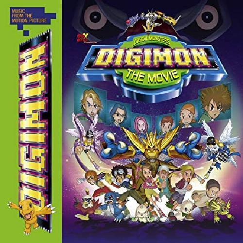 CD DIGIMON: THE MOVIE - TRILHA SONORA OST