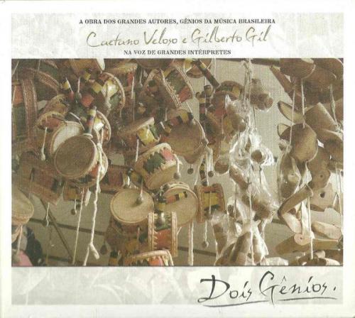 CD DOIS GÊNIOS - CAETANO VELOSO E GILBERTO GIL NA VOZ DE GRANDES INTÉRPRETES