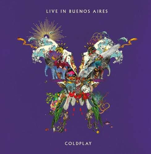 CD DUPLO COLDPLAY - LIVE IN BUENOS AIRES & SÃO PAULO
