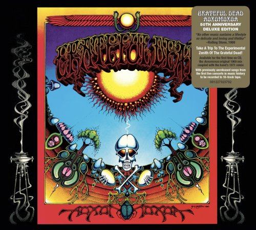 CD DUPLO  GRATEFUL DEAD - AOXOMOXOA - 50TH ANNIVERSARY DELUXE EDITION
