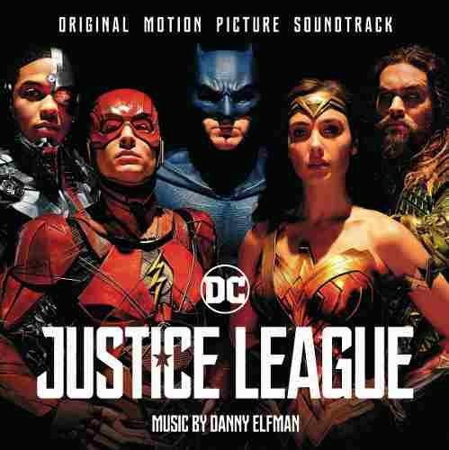CD DUPLO LIGA DA JUSTIÇA  ( Trilha Sonora Filme)