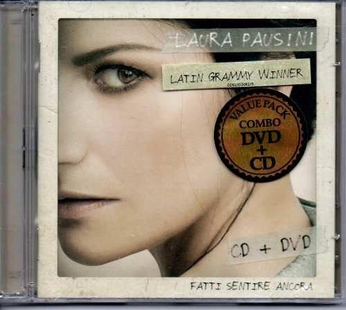 DVD+CD LAURA PAUSINI - FATTI SENTIRE ANCORA