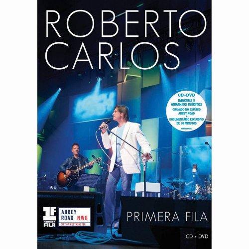 CD+DVD ROBERTO CARLOS - PRIMERA FILA