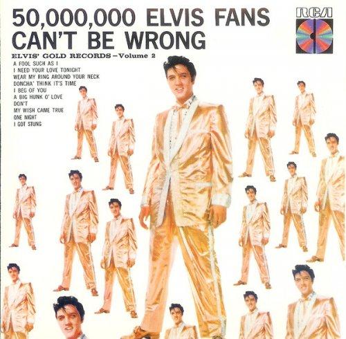 CD ELVIS PRESLEY - GOLD RECORDS VOL. 2