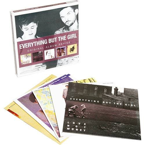 CD EVERYTHING BUT THE GIRL - ORIGINAL ALBUM SERIES (5CDS BOX SET)
