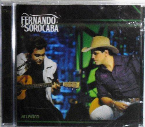 CD FERNANDO & SOROCABA - ACUSTICO