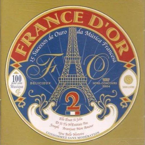 CD FRANCE D OR VOL 2  -  COM CASSIA ELLER & OUTROS