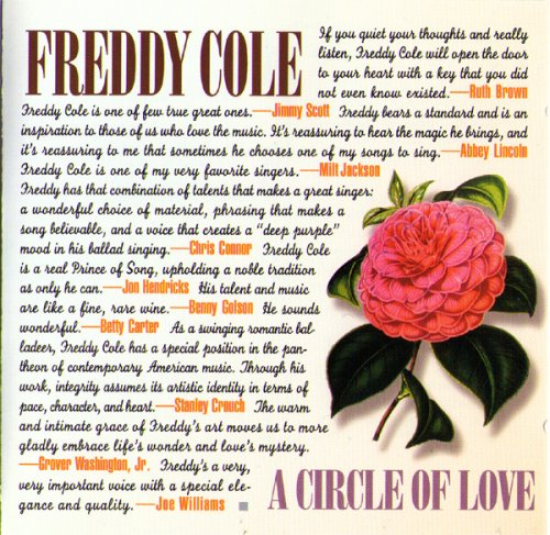 CD FREDDY COLE - A CIRCLE OF LOVE (1996)