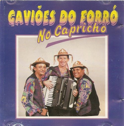 CD GAVIÕES DO FORRÓ - NO CAPRICHO