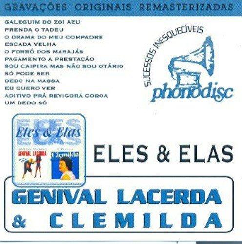 CD GENIVAL LACERDA & CLEMILDA - VOL. 2 - ELES & ELAS