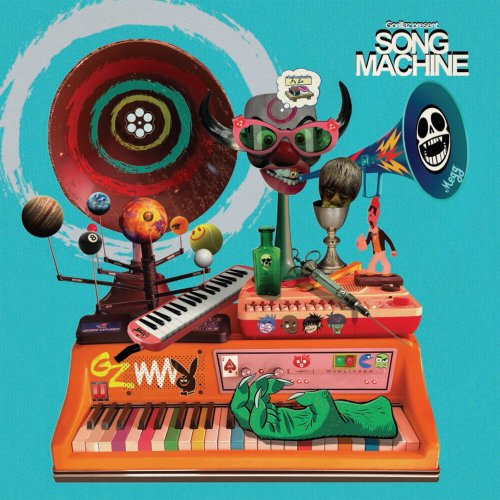 CD GORILLAZ - SONG MACHINE