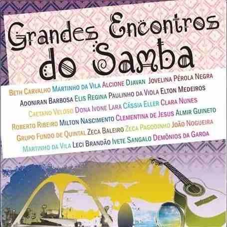 Cd Grandes Encontros Do Samba Vários Original / Lacrado