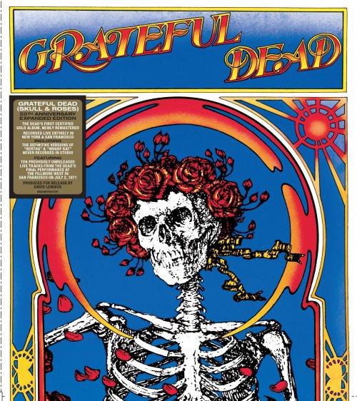 CD GRATEFUL DEAD - SKULL & ROSES (50TH ANNIVERSARY- DUPLO 2 CDS) - PRÉ-VENDA  LANÇAMENTO 25/06