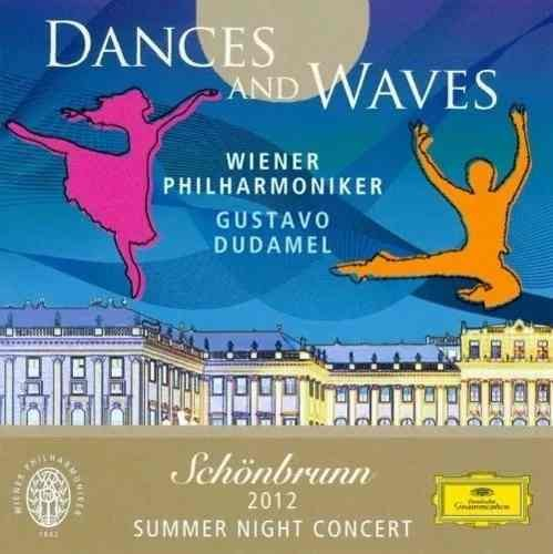 Cd Gustavo Dudamel Dances And Waves - Schonbrunn 2012
