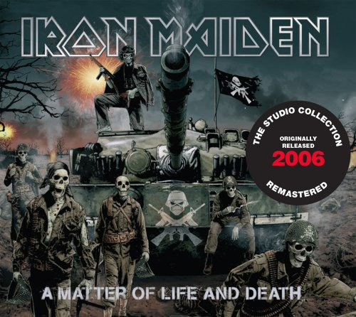 CD IRON MAIDEN A MATTER OF LIFE AND DEATH 2006 REMASTERED*
