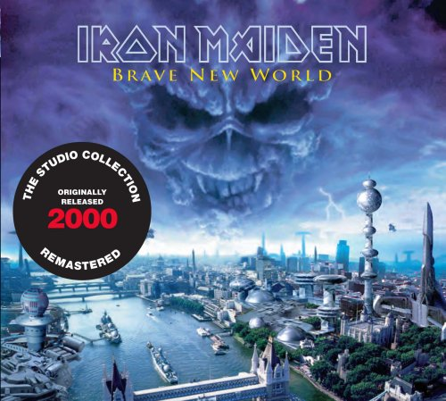 CD IRON MAIDEN - BRAVE NEW WORLD (2000)  - REMASTERED - EMBALAGEM EM DIGIPACK