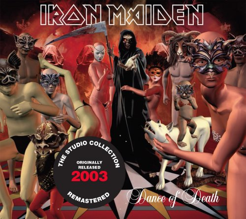 CD IRON MAIDEN DANCE OF DEATH 2003 REMASTERED*