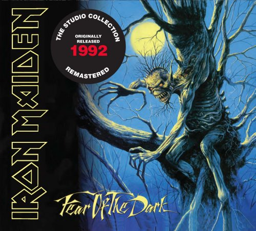 CD IRON MAIDEN FEAR OF THE DARK 1992 REMASTERED*