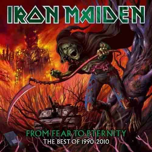 CD IRON MAIDEN - FROM FEAR TO ETERNITY - BEST OF 1990 -2010 - DUPLO 2 CDs