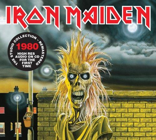 CD IRON MAIDEN IRON MAIDEN 1980 REMASTERED*