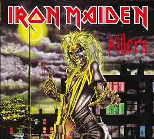 CD IRON MAIDEN KILLERS 1981 REMASTERED*