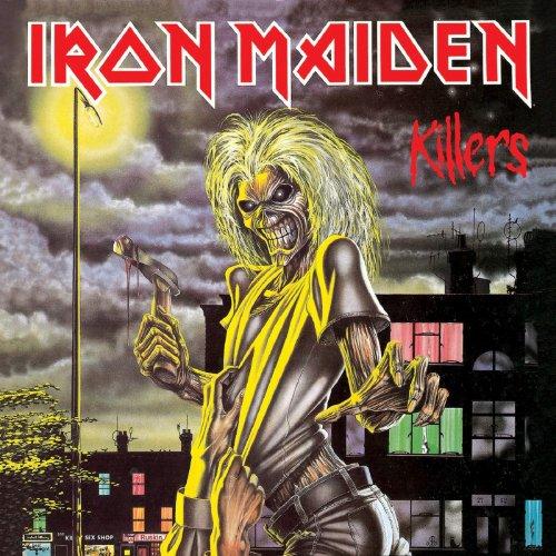 CD IRON MAIDEN - KILLERS (CAIXA ACRÍLICA) - VERSÃO ORIGINAL)