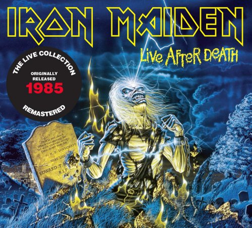 CD IRON MAIDEN - LIVE AFTER DEATH (1985) - REMASTERED (2 CDs)
