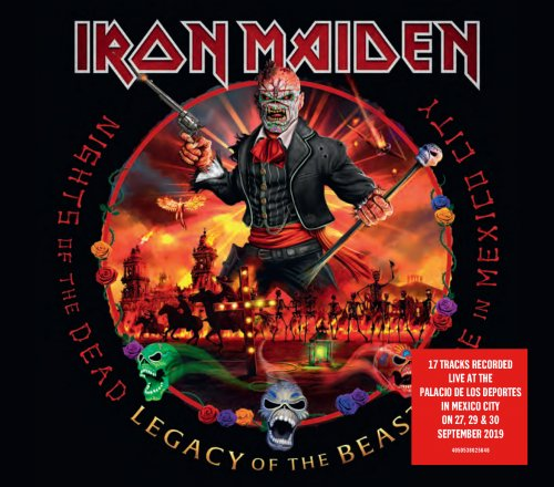 CD IRON MAIDEN - NIGHTS OF THE DEAD - LEGACY OF THE BEAST  - PRÉ-VENDA 18/12