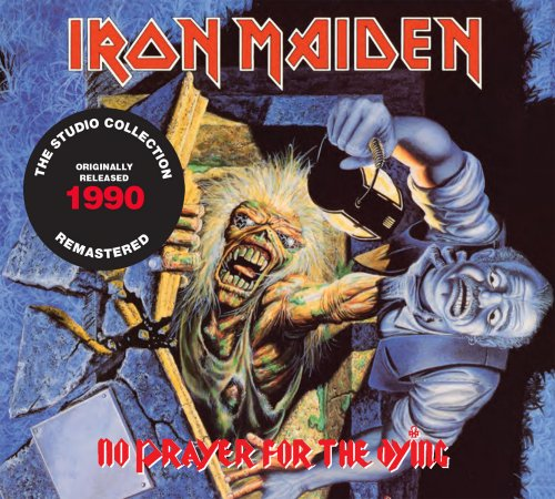CD IRON MAIDEN NO PRAYER FOR THE DYING 1990 REMASTERED*