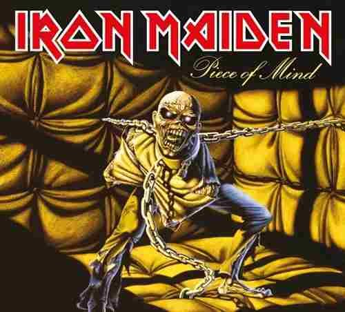 CD IRON MAIDEN PIECE OF MIND 1983 REMASTERED*