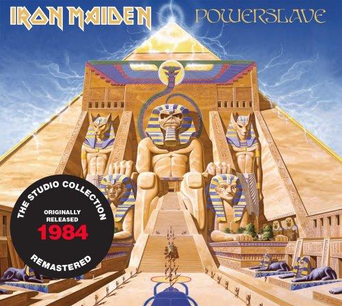CD IRON MAIDEN POWERSLAVE 1984 REMASTERED*