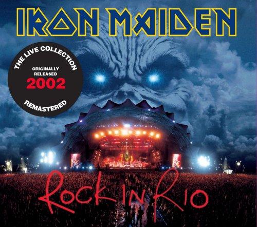 CD IRON MAIDEN - ROCK IN RIO (2002) - REMASTER (2 CDS)