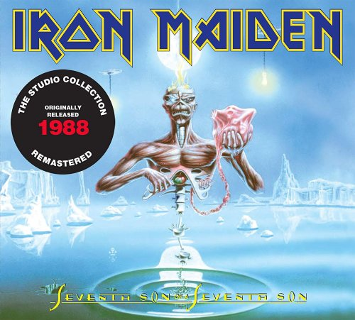 CD IRON MAIDEN - SEVENTH SON OF A SEVENTH SON (2015) - REMASTERED