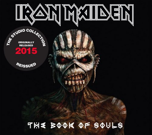 CD DUPLO IRON MAIDEN - THE BOOK OF SOULS 2015 REMASTERED*
