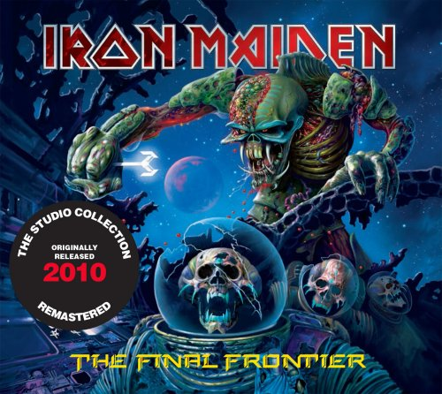 CD IRON MAIDEN - THE FINAL FRONTIER 2010 REMASTERED*
