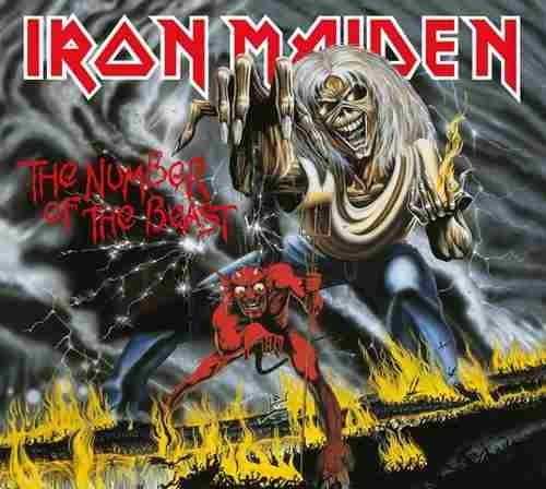 CD IRON MAIDEN THE NUMBER OF THE BEAST 1982 REMASTERED*
